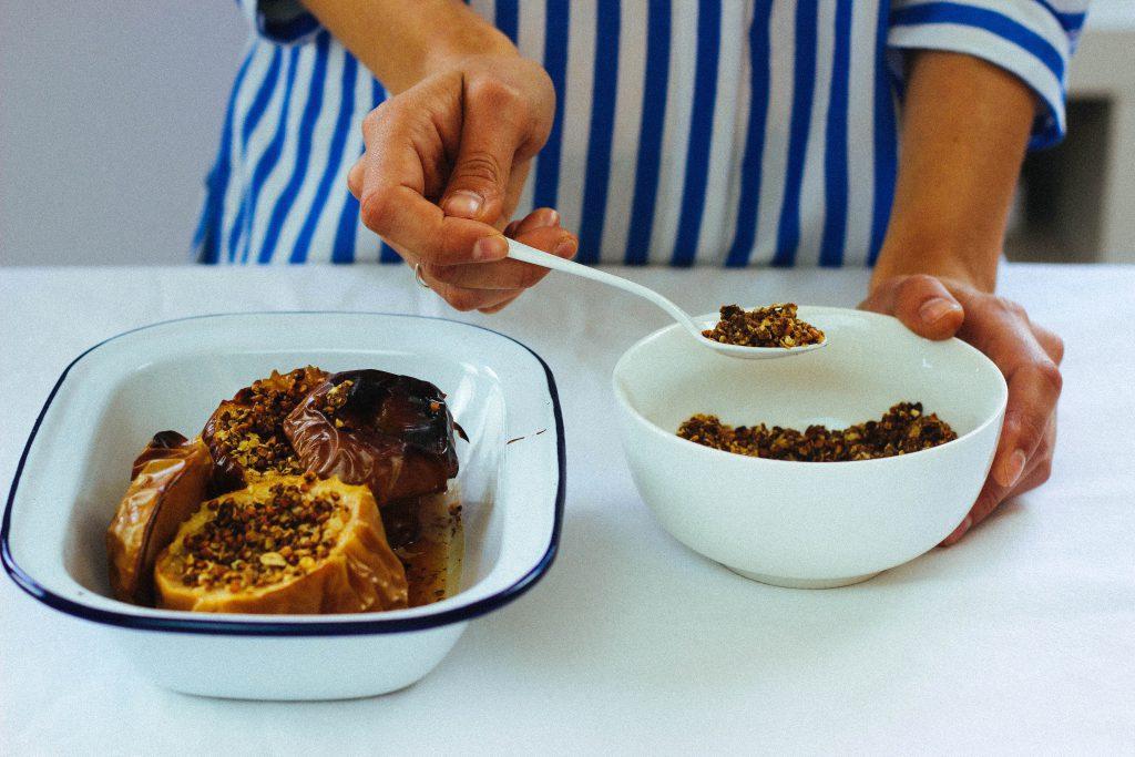 """Mégane """"La cuisine c'est avant tout le partage, la gourmandise, le plaisir""""."""