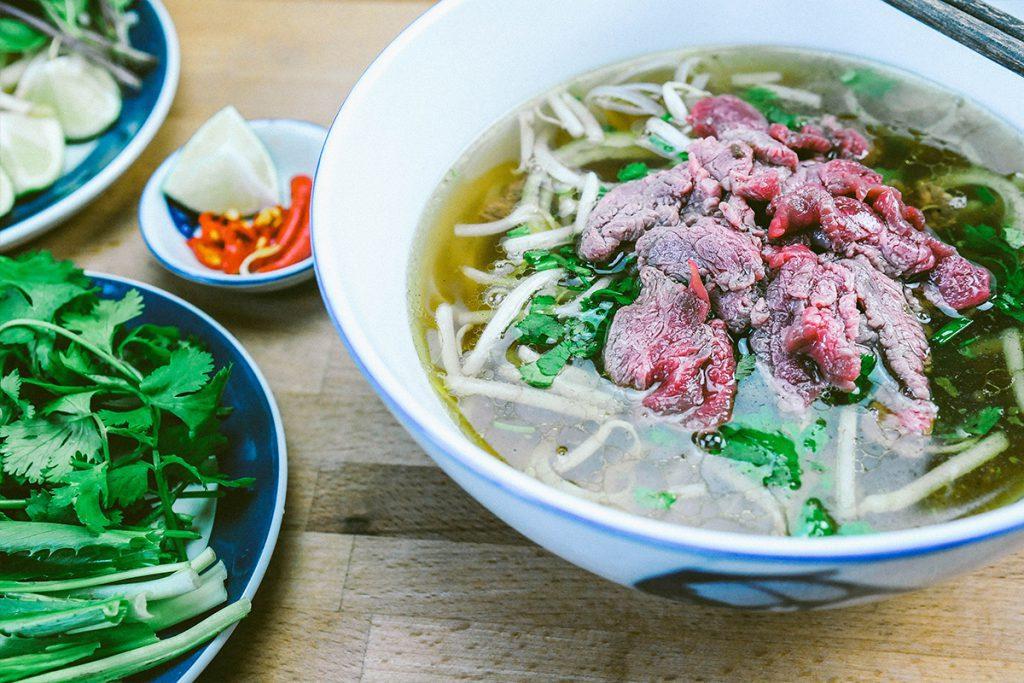 Une saveur venue du Vietnam : le Phở bò
