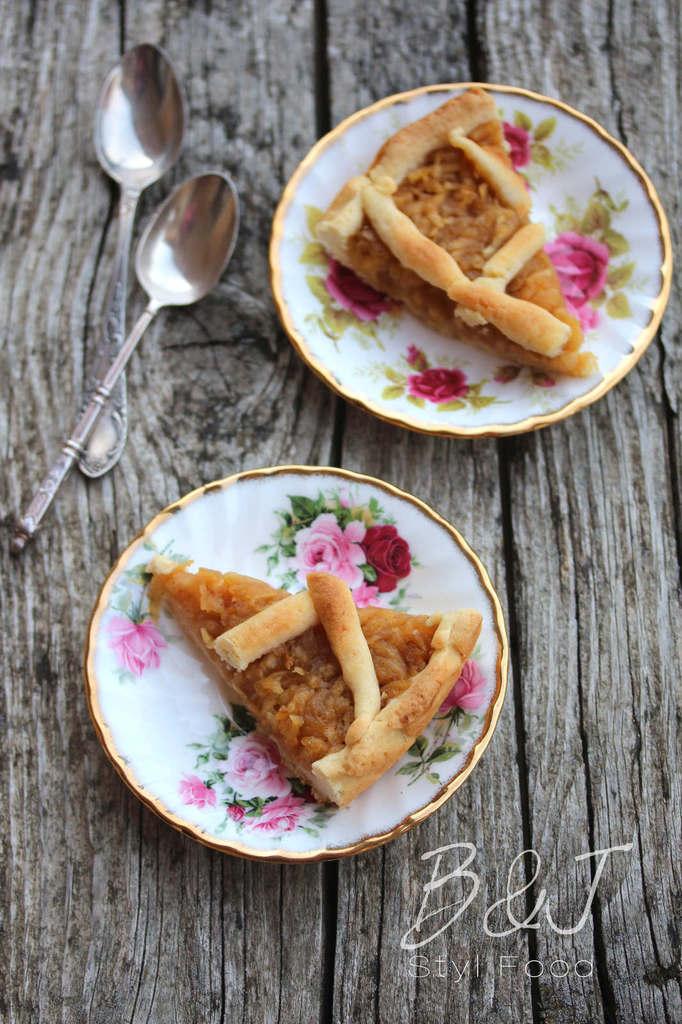 Gâteau aux pommes polonais : Szarlotka