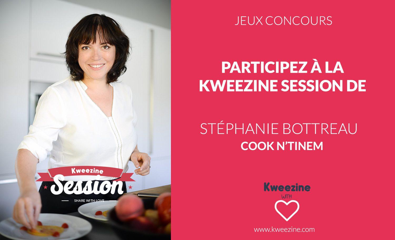 Participez à une Kweezine Session avec Stéphanie de Cook N'Tinem