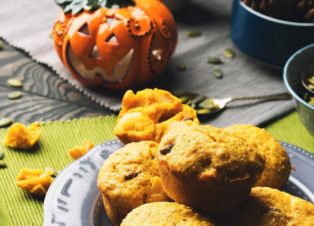 Spécial Halloween : Gâteau à la citrouille