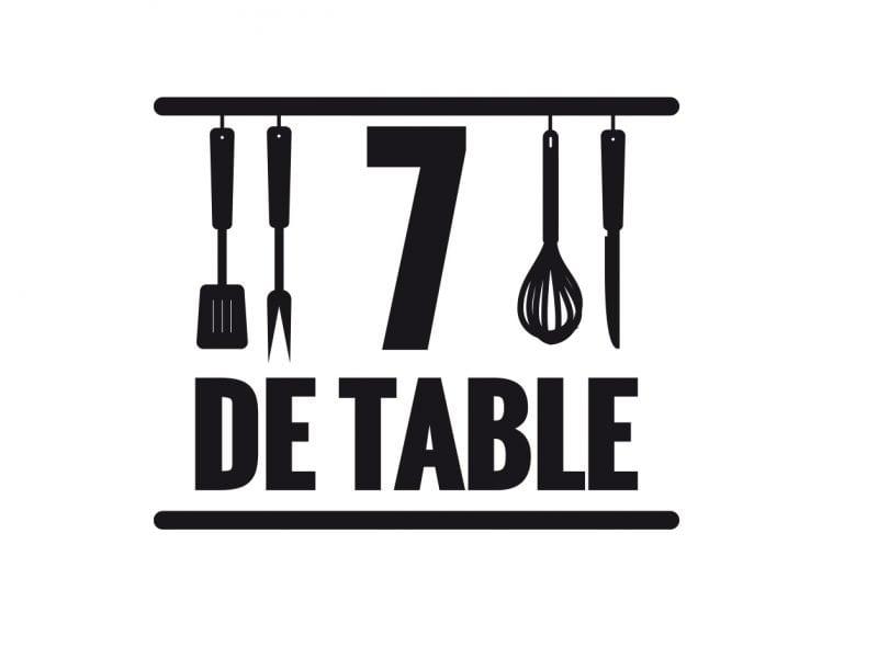 Un webzine pas comme les autres: 7 de Table