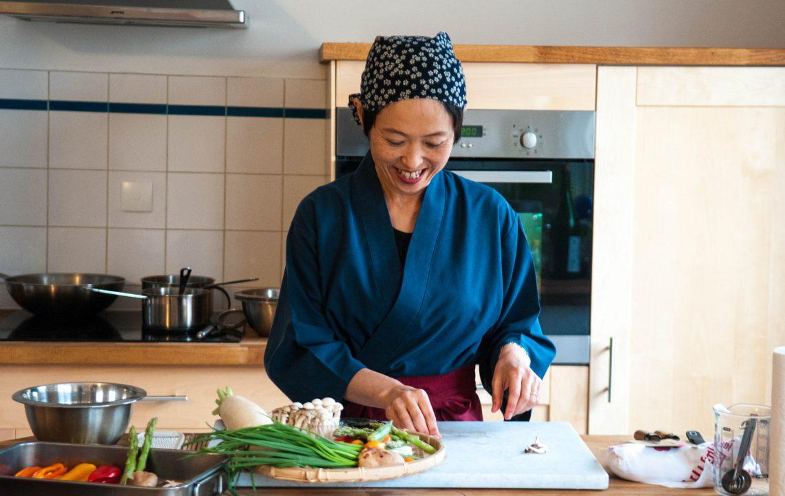 Les saveurs japonaises à Bordeaux avec Junko Sakurai