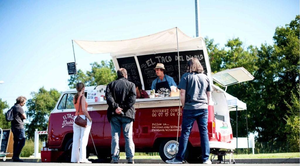 Food-Truck bordelais El Taco Del Diablo