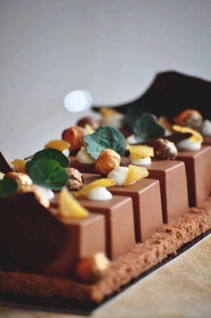 Bûche chocolat