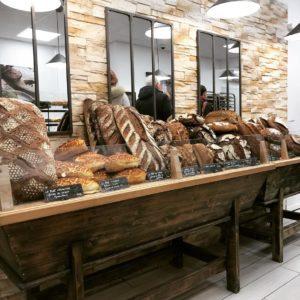 ensemble de pains