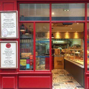 devanture la fabrique boulangerie